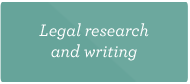 Legal and research writing